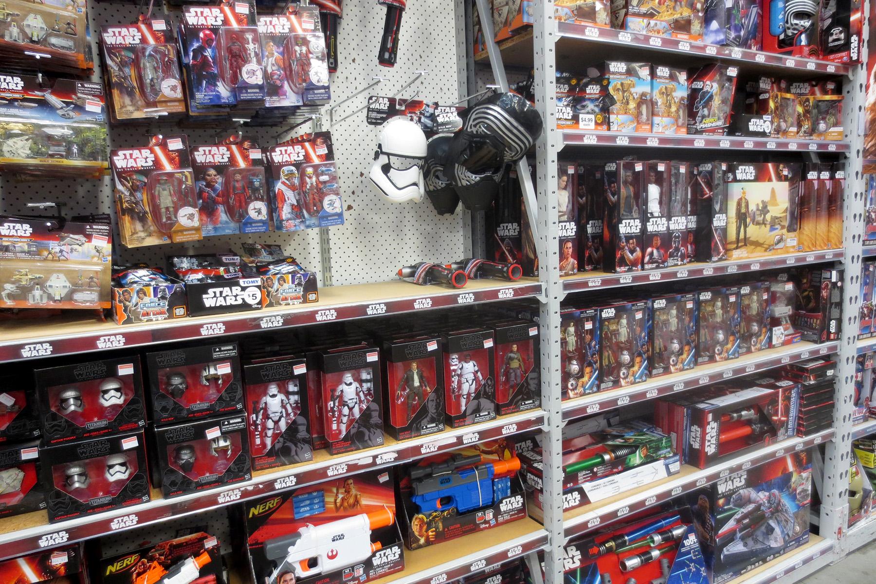 The Warehouse Toy Sale SWNZ Star Wars New Zealand